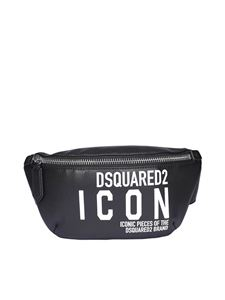 Dsquared2 - Icon logo printed belt bag