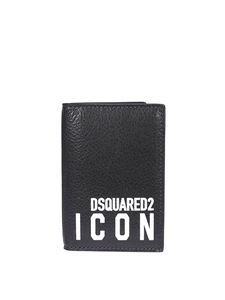 Dsquared2 - Icon leather bifold wallet