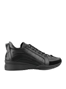 Dsquared2 - Sneaker 251 mid-top nere in pelle