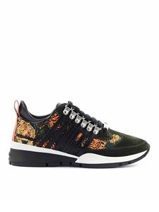 Dsquared2 - 251 tiger print sneakers