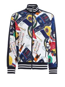 POLO Ralph Lauren - Printed cotton bomber jacket