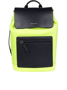 Michael Kors - Brooklyn neon nylon backpack