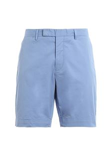 POLO Ralph Lauren - Pantaloni corti in cotone stretch blu