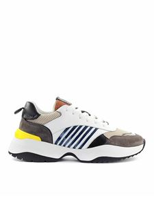 Dsquared2 - Sneakers D24 in pelle e mesh