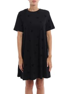 McQ Alexander Mcqueen - Velvet Swallow jersey dress