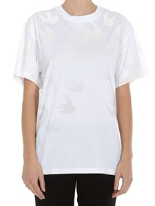 McQ Alexander Mcqueen - Swallow Degradé printed T-shirt