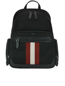 Bally - Chapmay black nylon backpack
