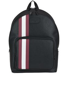 Bally - Sarkis coated canvas backpack