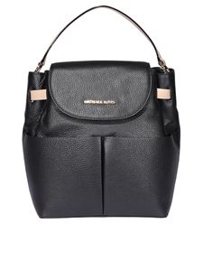 Michael Kors - Bedford leather backpack