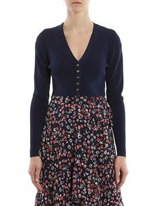Michael Kors - Viscose crop cardigan