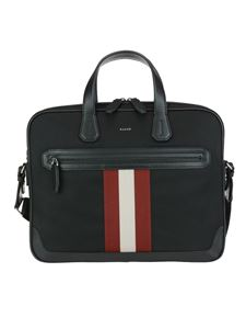 Bally - Chandos tech fabric and leather business bag