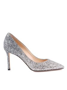 Jimmy Choo - Décolleté Romy 85 in glitter degradé