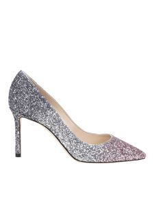 Jimmy Choo - Décolleté Romy 85 glitterate