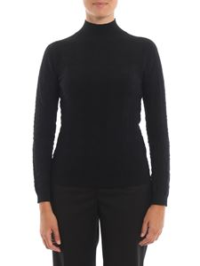 Blumarine - Black wool turtleneck sweater