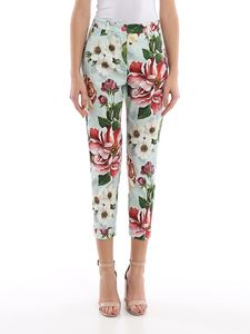 Dolce & Gabbana - Floral printed trousers