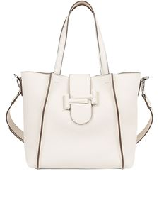 Tod's - Double T leather tote
