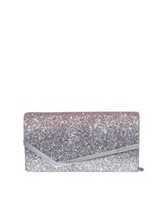 Jimmy Choo - Emmie glittered clutch