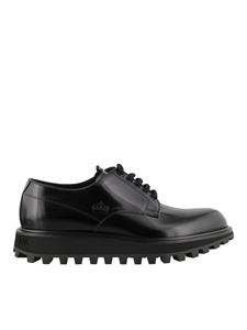 Dolce & Gabbana - Polished leather Derby shoes