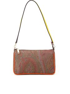 Etro - Multicolour detail Paisley clutch
