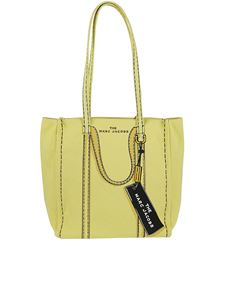 Marc Jacobs  - The Trompe l'Oeil Tag yellow canvas tote