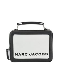 Marc Jacobs  - The Colorblocked Box leather cross body bag