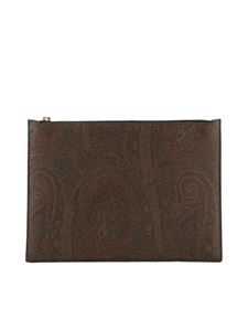 Etro - Clutch stampa Paisley