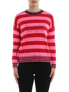 Giada Benincasa - Pensami Sempre striped wool sweater