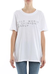 Dondup - Capital print T-shirt