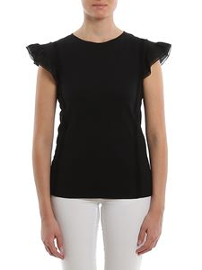Dondup - Flutter sleeved top