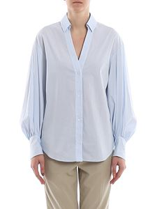 Dondup - Puff sleeve striped shirt