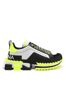 Dolce & Gabbana - Super King neon sneakers