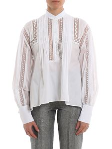 Ermanno Scervino - Cotton blouse with passementerie