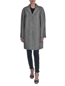 Ermanno Scervino - Prince of Wales check overcoat with sequins