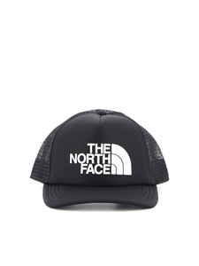 The North Face - Logo Trucker fabric and mesh baseball cap