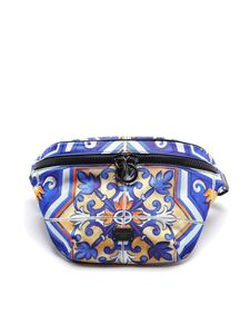Dolce & Gabbana - Majolica printed nylon belt bag