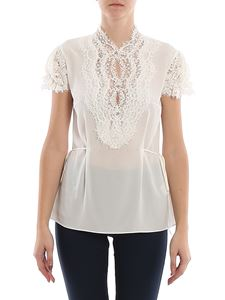 Ermanno Scervino - Lace intarsia detailed top