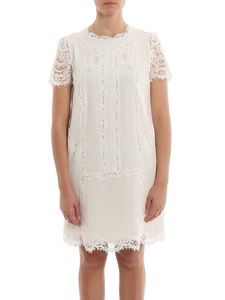 Ermanno Scervino - Silk and lace dress