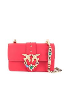 Pinko - Borsa Love Mini Jewels rossa