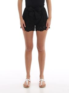 Ermanno Scervino - Broderie anglaise shorts