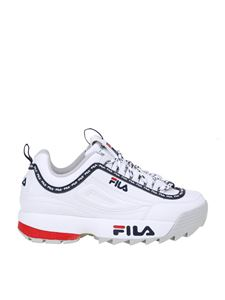 Fila - Distruptor Logo Low sneakers in white