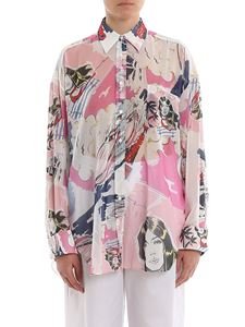 Ermanno Scervino - Comics print oversized shirt