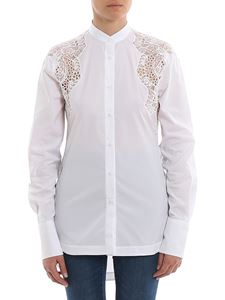 Ermanno Scervino - Lace and cut-out detailed shirt