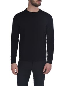 Moncler - Tricot crew neck sweater in black