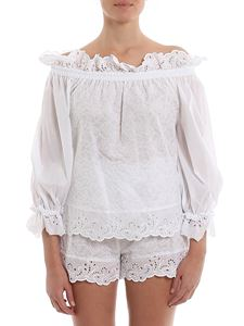 Ermanno Scervino - Broderie anglaise blouse