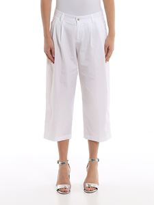 Ermanno Scervino - Cotton cropped trousers