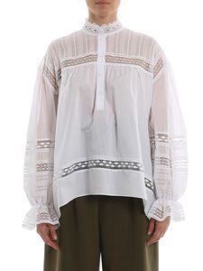Ermanno Scervino - Cotton oversized blouse