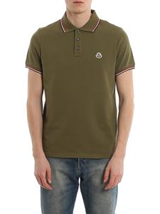 Moncler - Cotton piqué polo