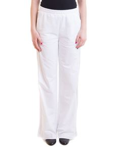 Ermanno Scervino - Drilled side-band cotton track pants