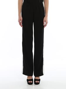 Ermanno Scervino - Grosgrain stripe trousers