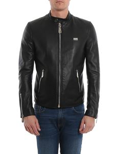 Philipp Plein - Statement leather jacket